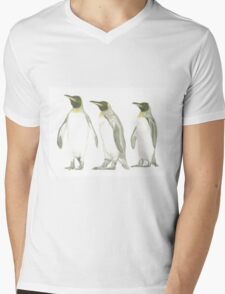 """Penguins"" Mens V-Neck T-Shirt"