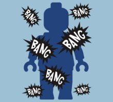 Minifig BANG BANG BANG One Piece - Short Sleeve