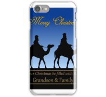 The Three Magi to Grandson and Family  iPhone Case/Skin