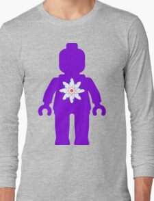 Minifig with Atom Symbol Long Sleeve T-Shirt