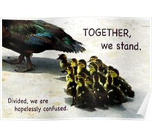 Together We Stand Poster