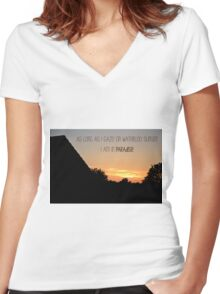 Waterloo Sunset - The Kinks Women's Fitted V-Neck T-Shirt