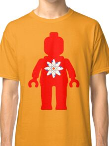 Minifig with Atom Symbol Classic T-Shirt