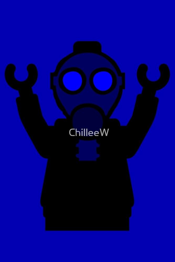 Apocalyse Minifigure wearing Gasmask by Customize My Minifig