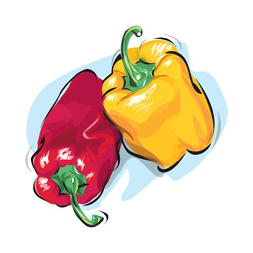 peppers by Jim rownd