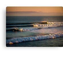Bells Beach Sets Canvas Print