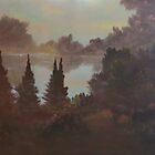 Autumn at Belgrade Lake by David Snider