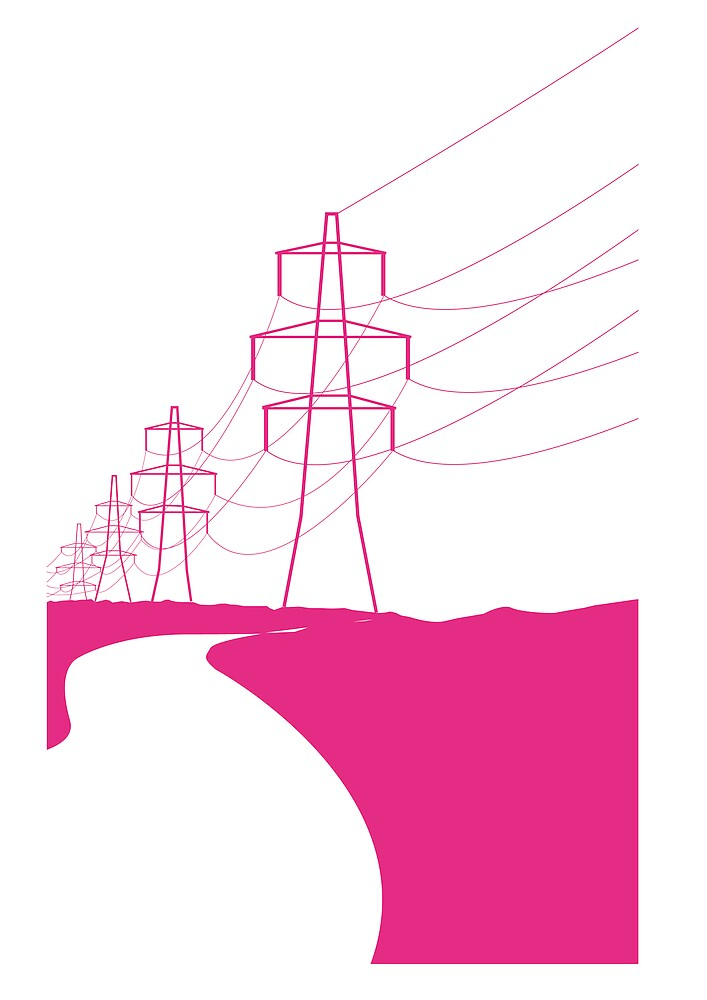 pink pylons by alikat