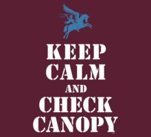 KEEP CALM AND CHECK CANOPY - PEGASUS by PARAJUMPER