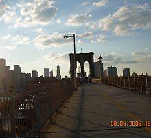 Sunny Brooklyn Bridge by shirag