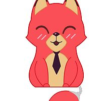 Fabulous Mr. Fox (w/ Tail) by dannicaboodle