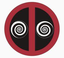 Hypnotized Deadpool Icon  Kids Clothes