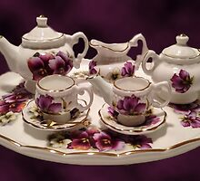TEA SET FOR TEA TIME >PICTURE AND OR CARD... by ✿✿ Bonita ✿✿ ђєℓℓσ