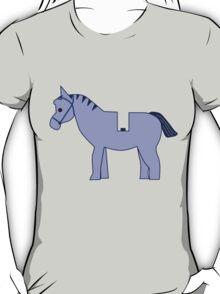 Interpretation of a Minifig Horse T-Shirt