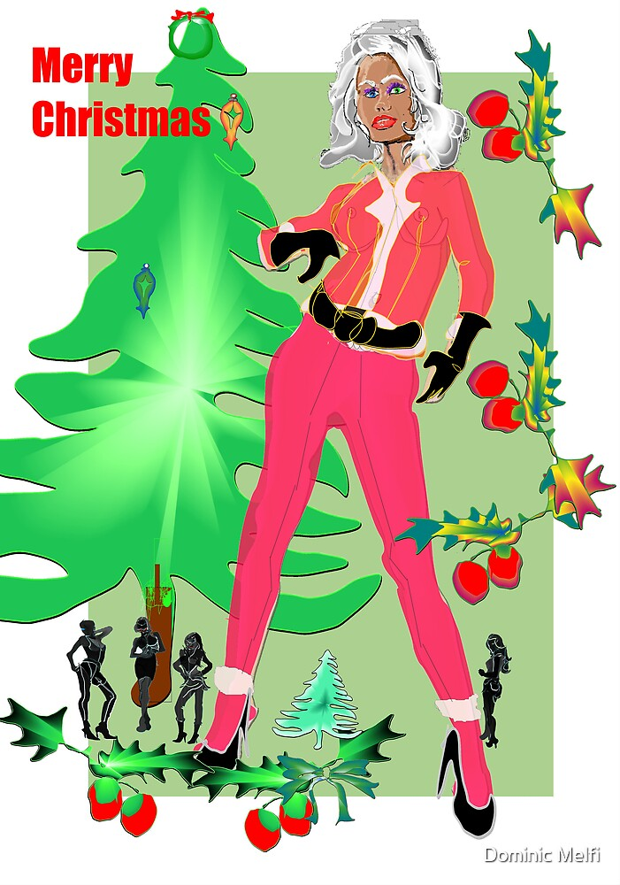 CARD: Niki Does Christmas by Dominic Melfi