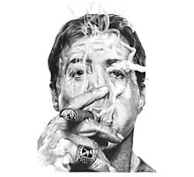 Stallone Photographic Print