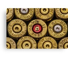 9mm Brass #2 Canvas Print
