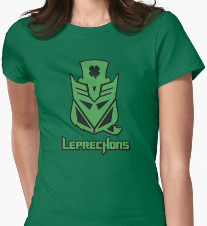 Leprechons Womens Fitted T-Shirt