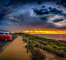 Surf Bells Beach by Russell Charters