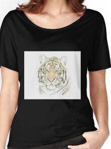 """Tiger"" Women's Relaxed Fit T-Shirt"