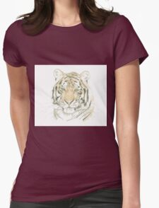 """""""Tiger"""" Womens Fitted T-Shirt"""