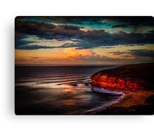 Bells Beach Sunrise Glow Canvas Print
