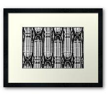 45 Auto #1 (Black & White) Framed Print