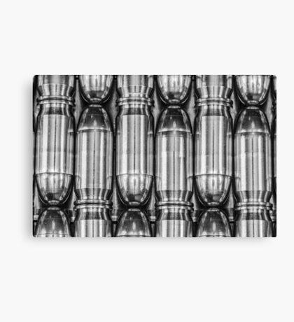 45 Auto #1 (Black & White) Canvas Print