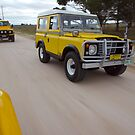 Yellow Land Rover Shorties by robertp