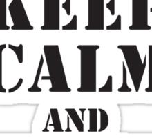 CHECK CANOPY - PATHFINDER PLATOON Sticker