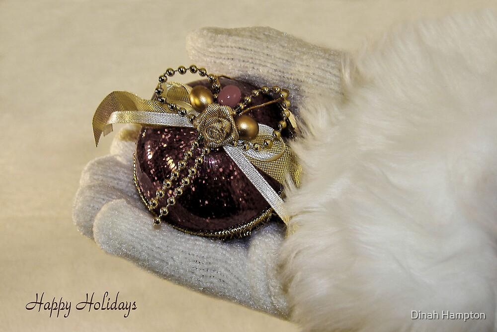Christmas Card#3 by Dinah Hampton