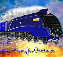 We Are Coming Home for Christmas - christmas card by Dennis Melling
