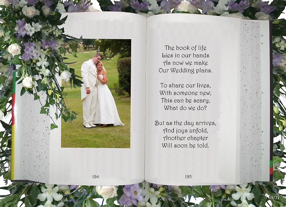 Wedding Book by Harri