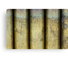 Brass Pillars Canvas Print