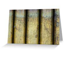 Brass Pillars Greeting Card