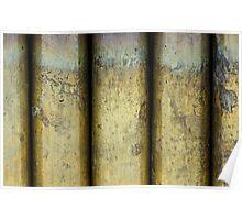Brass Pillars Poster