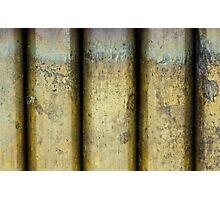 Brass Pillars Photographic Print