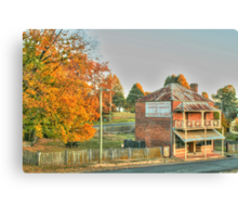 Hill End icon in HDR Canvas Print