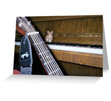 Mouse Concerto Greeting Card