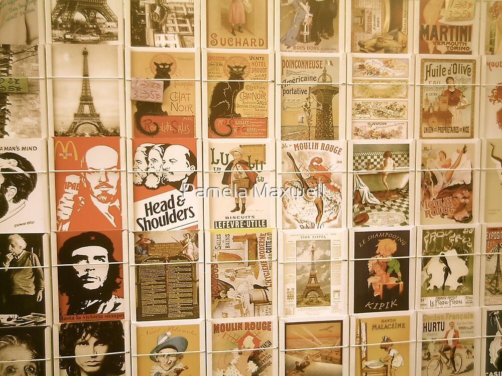 Posters in Paris by Pamela Maxwell