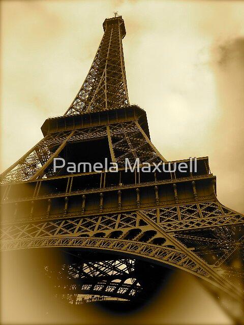 Effiel Tower by Pamela Maxwell