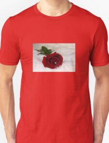 Red Rose For a Blue Lady Unisex T-Shirt