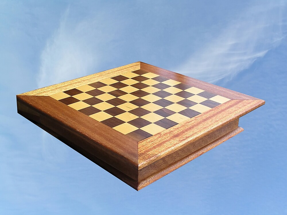 Chess Board in the Sky by Chuck Cannova
