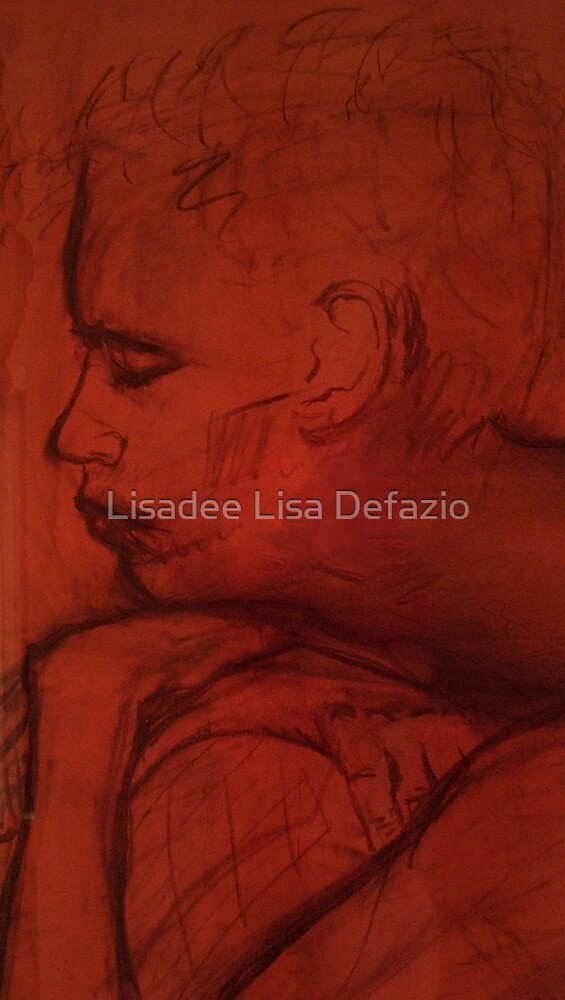 The Almost Sleeping Man by Lisadee Lisa Defazio