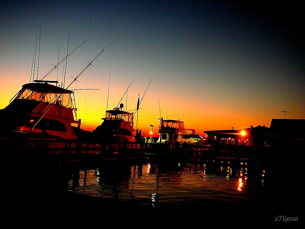 Inlet Harbor, Ponce Inlet Fl by z71jessi
