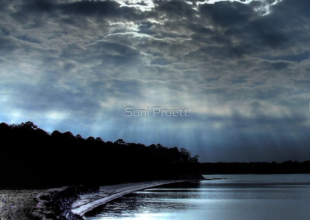 Surreal Afternoon At The Lake by Suni Pruett