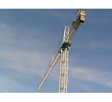 Sky Crane Photographic Print