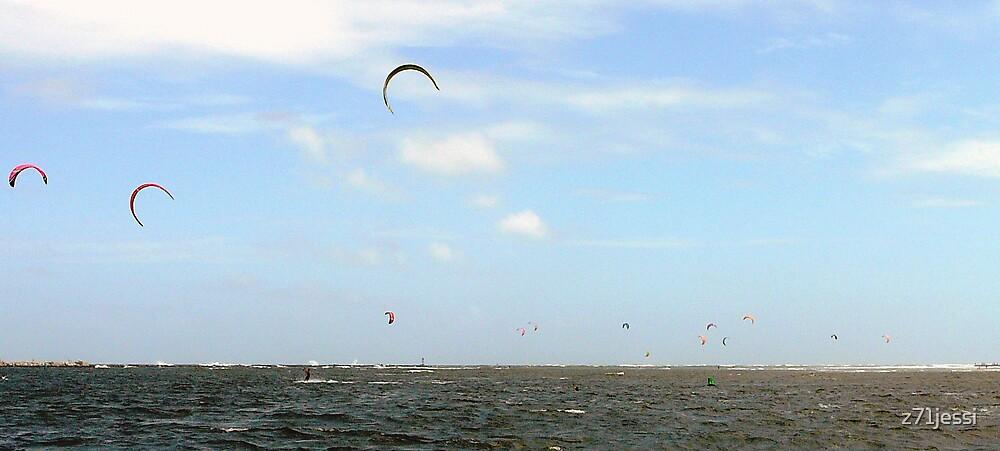 Kite Surfing by z71jessi
