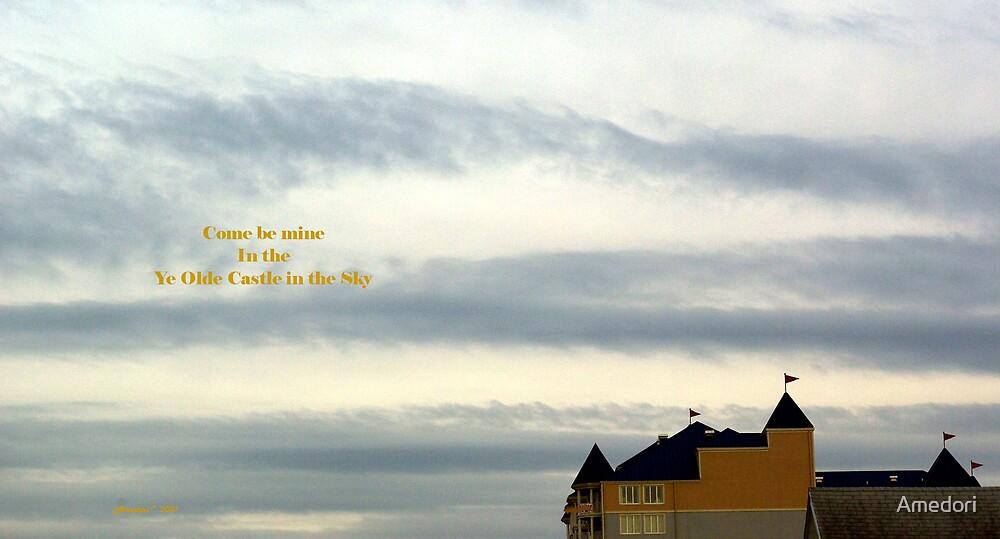 Ye Olde Castle in the Sky by Amedori