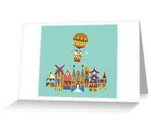 Voyage around the world Greeting Card